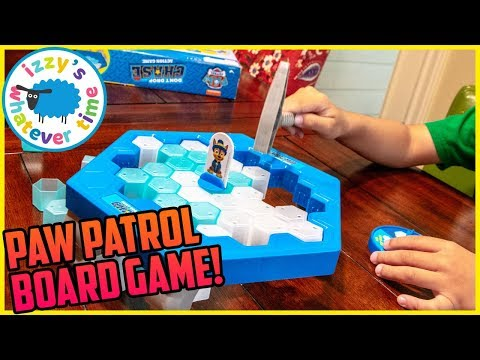 Download PAW PATROL BOARD GAME! Izzy's Toy Time SAVES Chase! HD Mp4 3GP Video and MP3