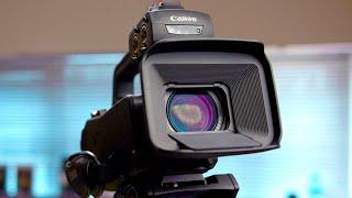 Ultra-Convenient 4K Camcorders | Canon XA40, XA50 & XA55