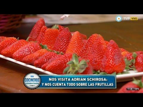 Propiedades de la frutilla con Adrián Schirosa