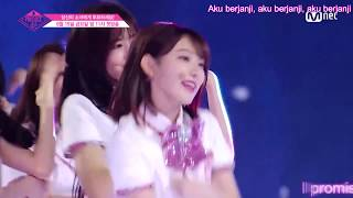 Produce48 - Naekkoya (Pick Me)[M Countdown][Japanese Version] (Sub Indonesia)