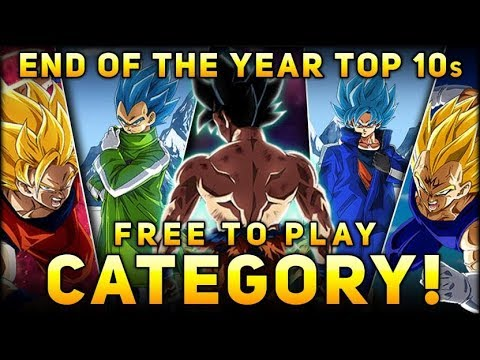 WHAT ARE THE BEST F2P CARDS? Dokkan F2P Unit Tier List