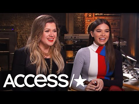 'The Voice': Kelly Clarkson & Hailee Steinfeld Were Destined To Work Together (Access Exclusive)