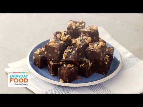 Easy Walnut Fudge Recipe – Everyday Food with Sarah Carey