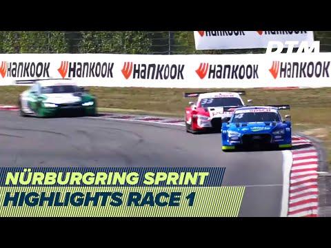 2020年 DTM ニュルブルクリンクスプリント(ドイツ)レース1を3分半でみるハイライト動画