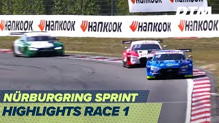 Action-packed race with three restarts | Highlights Race 1 | DTM Nürburgring Sprint 2020