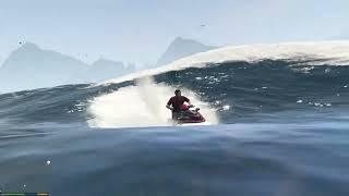GTA 5 - Điều gì sẽ xảy ra khi bạn lái thuyền ra khỏi bản đồ?