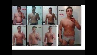 Dieta Trasformazione Fisica / Diet Transformation -20 KG (100 KG - 80 KG)