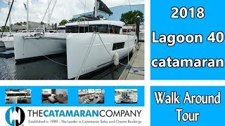 New Sail Catamarans for Sale 2020 Lagoon 40