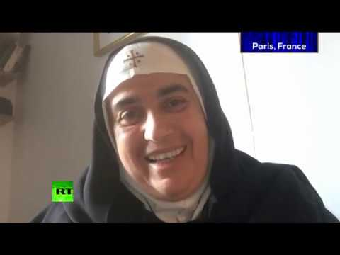 Syrian nun slams West for arming radicals, talks plight of Syria's Christians (Going Underground)