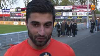 Reactie Sargon Gouriye op HHC Hardenberg - VVSB
