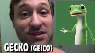365 Days of Character Voices - GECKO - Geico (DAY 213)