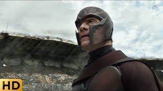 Магнито публично обращается к людям и мутантам. Люди Икс: Дни минувшего будущего.