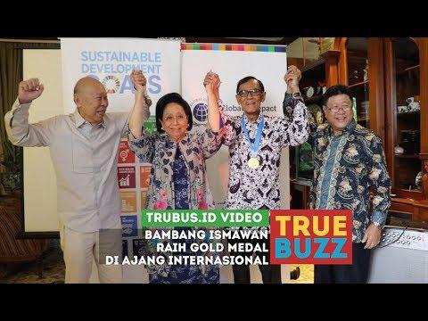Bambang Ismawan Meraih Penghargaan Internasional, Global Compact Medals