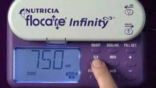 Flocare Infinity Enteral Feeding Pump - Programming