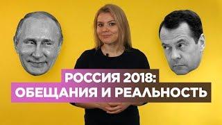 Невыполненные обещания Путина и Медведева