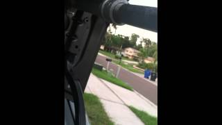 How to put a flagpole on your car