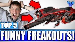 Funny Nanophoenix Raid Ship Freakout - Top 5 Crazy Reactions Of The Week / Episode 418