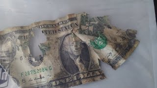 Sending Damaged US Currency to the Bureau of Engraving & Printing