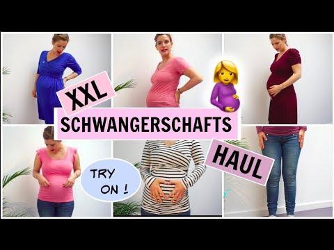 XXL SCHWANGERSCHAFTS HAUL l STILLKLEIDUNG l Maternity l H&M l ZALANDO l UMSTANDSMODE l HelloCathi