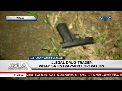 [EagleNewsPH]  Illegal drug trader, patay sa entrapment operation