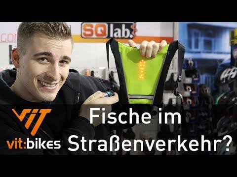 Mehr Sicherheit im Dunkeln - Blinkerweste - vit:bikesTV