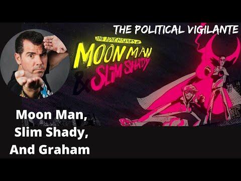 Graham Watches 'Adventures Of Moon Man & Slim Shady'
