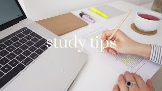 5 Useful Study Tips! // Back To University & College