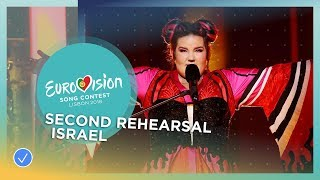 Netta - Toy - Israel - Exclusive Rehearsal Clip - Eurovision 2018