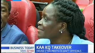 Parliamentarians are concerned over Kenya Airways takeover