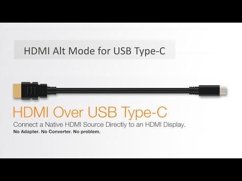 HDMI Alt Mode for USB Type-C