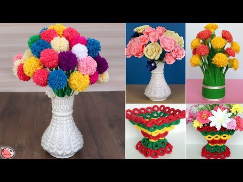 10 Home Decoration Idea 2019 !! DIY Room Decor – Flower Pot Idea