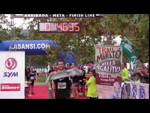 Llegada campeón 21km
