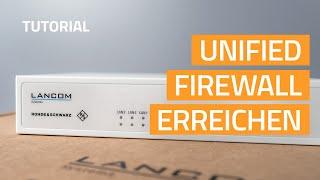 YouTube-Video Erreichen der LANCOM R&S®Unified Firewalls