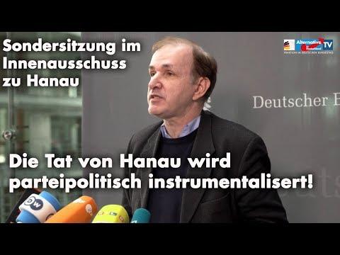 Hanau Lüge