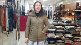 Vídeo Jaqueta Estofada Feminina Gola Com Pelo Removível Safira Cor Vermelho