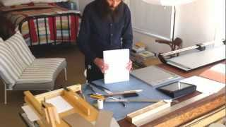 Handmade Photobook Bookbinding Time Lapse