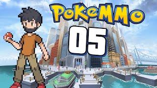 PokeMMO Episode 5 - Raiding Castelia City!