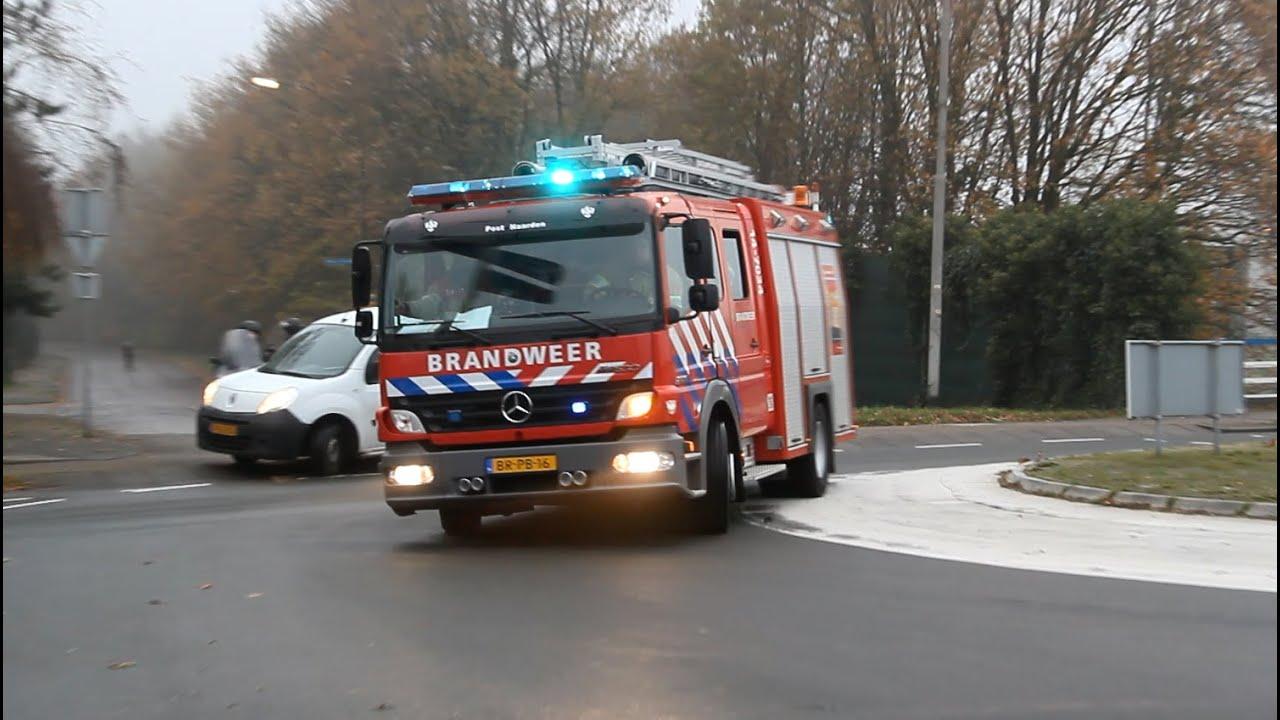Veel Brandweer en Politie met spoed naar een Zeer Grote Brand GRIP 1 in Bussum