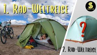 Zweite Rad-Weltreise: Unser ZELT! Erfahrungen & Tipps für deine Zeltwahl | SaddleStories.at