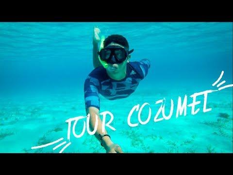 Tour EL CIELO Cozumel ¿Como se llega? Hoy Playa del Carmen / adunadjtv / sargazo
