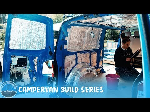 Day 20 + 21 – Carpeting & new ply! #VanLife VW T5 Camper Conversion