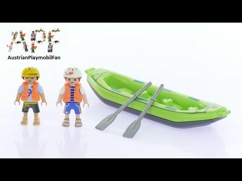 Vidéo PLAYMOBIL Summer Fun 6892 : Enfants avec radeau pneumatique