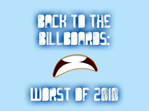 Back to the Billboards: Top 13 Worst Songs of 2010
