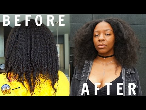 Video How To REPAIR DAMAGED Natural Hair | Dry, Brittle + Thinning (Straight Ends)