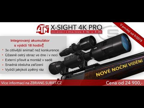 Upgrading the atn x- sight 2 - to a atn x - sight 4 k pro