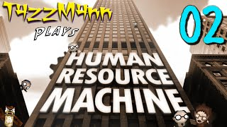 Human Resource Machine E02 -  Tetracontiplier... What The?!? - Let's Play
