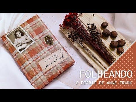 FOLHEANDO O DIÁRIO DE ANNE FRANK | MEROS DEVANEIOS