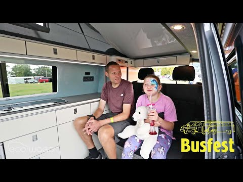 Ecowagon VW Transporter Expo Conversion Customer Review by Ben & Bethany