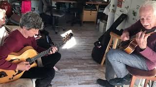 "Serge Merlaud & John Pisano ""Alone Together"" IMG 4307"