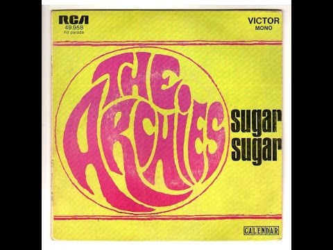 Sugar Sugar - The Archies (Lyrics) Mp3